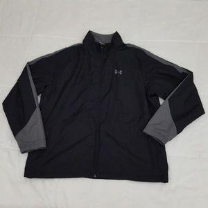 Under Armour Full Zip Jacket Mens XL Windbreaker